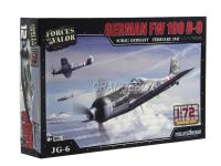 Model Kit Avião German FW 190 D-9 (Germany 1945) 1:72 Forces of Valor