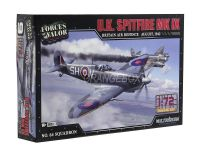 Model Kit Avião U.K Spitfire MK. IX (Grã-Bretanha 1942) 1:72 Forces of Valor