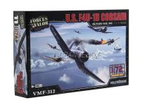 Model Kit Avião U.S. F4U-1D Corsair (Okinawa 1945) 1:72 Forces of Valor