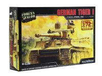 Model Kit Tanque German Tiger (Tunísia 1943) 1:72 Forces of Valor