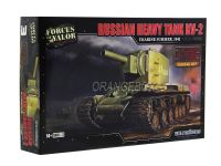 Model Kit Tanque Russian Heavy Tank KV-2 (Ucrânia 1941) 1:72 Forces of Valor