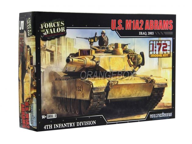 Model Kit Tanque U.S. M1A2 Abrams (Iraque 2003) 1:72 Forces of Valor