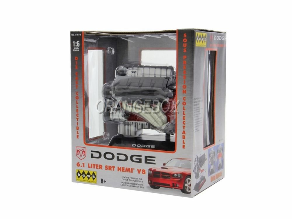 Motor Dodge Hemi 6.1 Litros SRT8 Hawk 1:6
