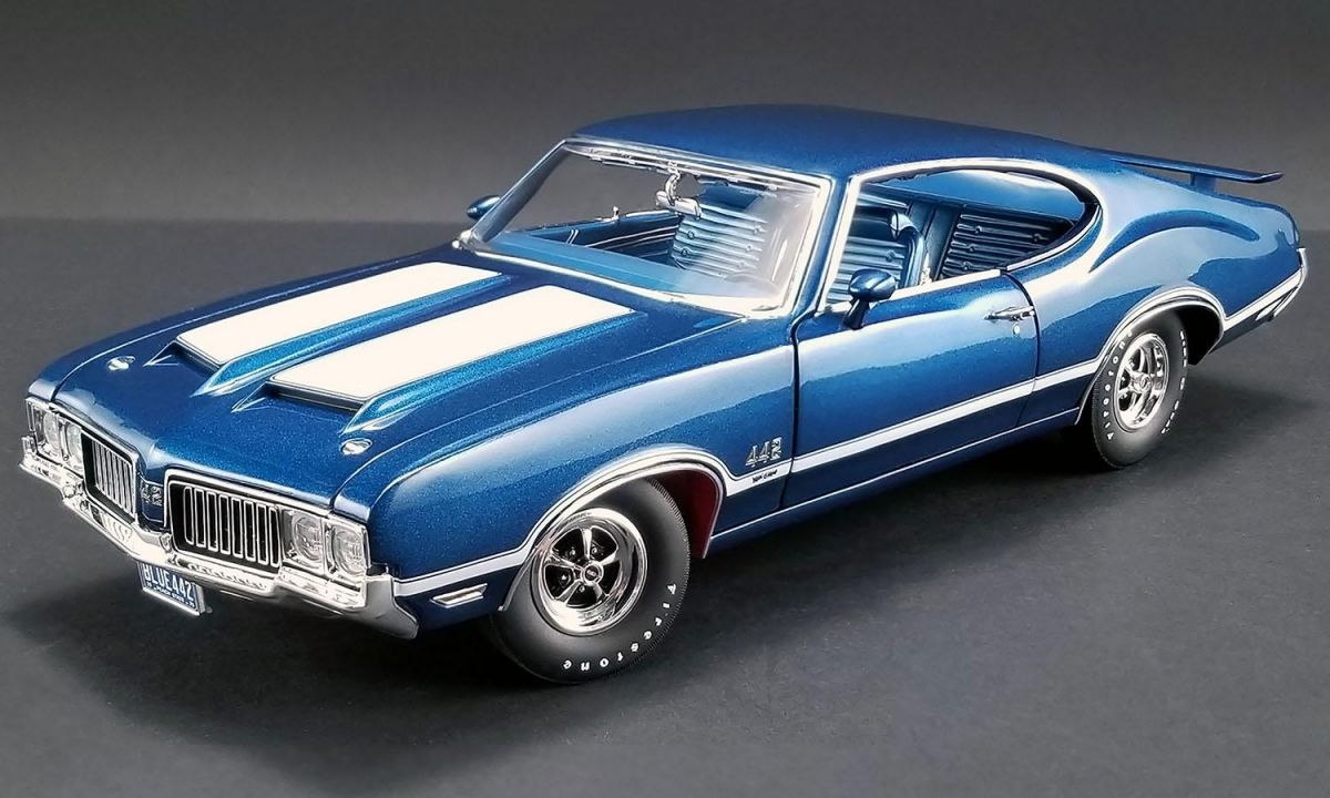 Oldsmobile 442 W30 1970 Acme 1:18 Azul