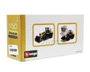 Pá Carregadeira New Holland W170D Wheel Loader Bburago 1:50