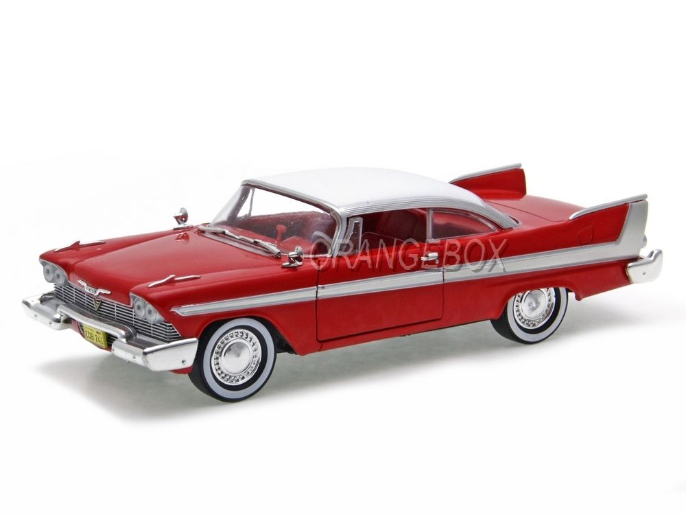 Plymouth Fury 1958 Christine O Carro Assassino 1:24 Greenlight