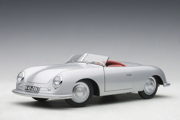 Porsche 356 Number 1 1948 Convertible Revised Edition 1:18 Autoart