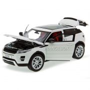 Range Rover Evoque Welly GT Autos 1:18 Branco