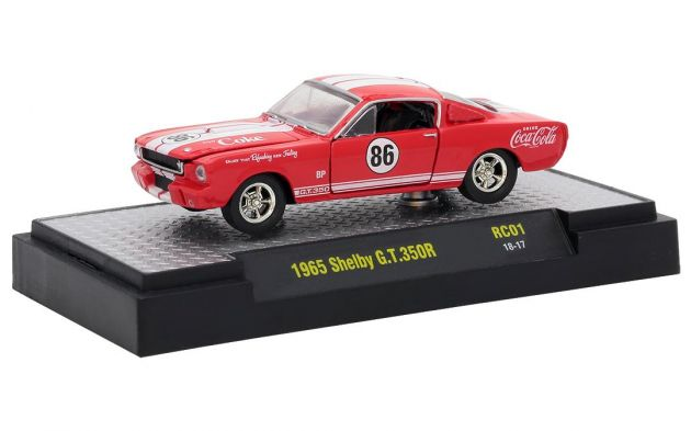 Shelby G.T.350R 1965 Coca Cola HOBBY ONLY RC01 M2 Machines 1:64