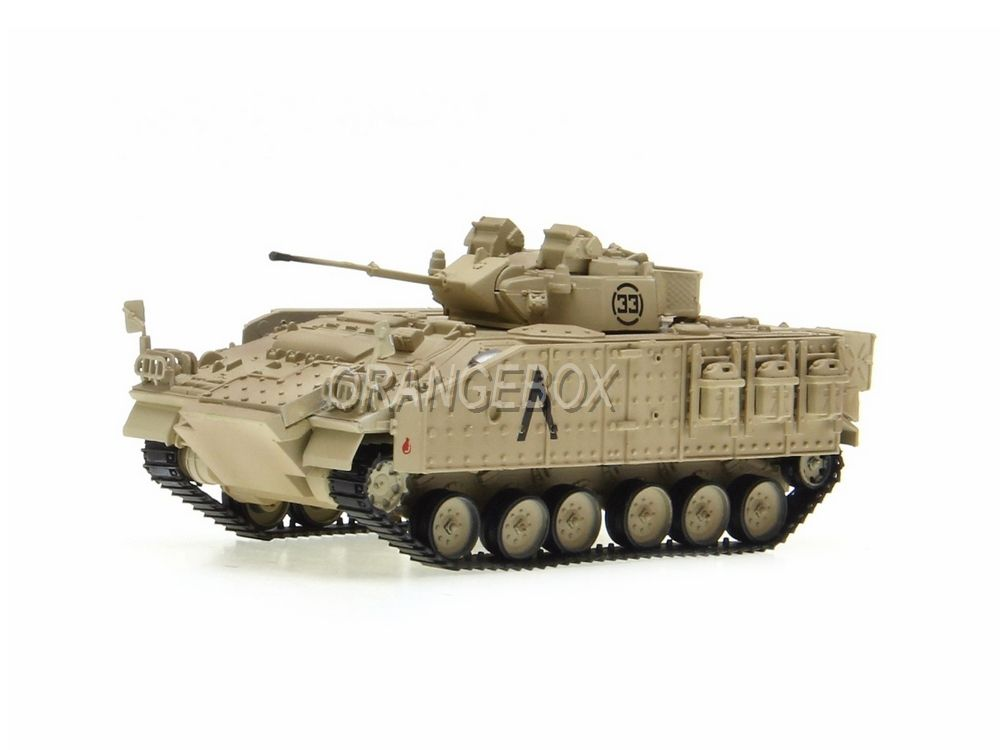 Tanque MCV 80 (Warrior) 1st Bn, Staffordshire Regt 7th Armoured 1991 1:72 Easy Model