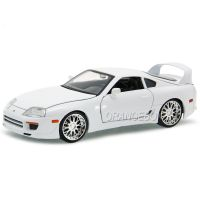 Toyota Supra Fast and Furious 7 Jada Toys 1:24 Branco