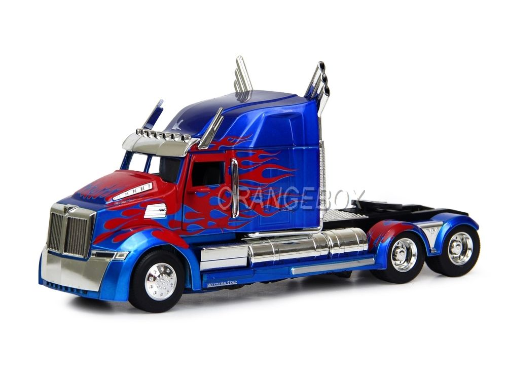 Transformers 5 Optimus Prime Western Star 5700 XE Phantom Jada Toys 1:24