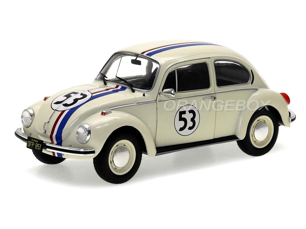 Volkswagen Fusca 1973 Herbie 53 The Love Bug 1:18 Solido
