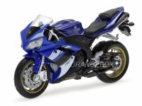 Yamaha YZF-R1 California Cycle 1:18 Azul
